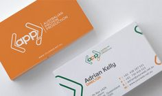 Australian Protein Production Logo and Business Card.