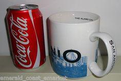 Starbucks Coffee San Antonio Texas 2002 Mug Cup 18 Ounces Skyline Series One