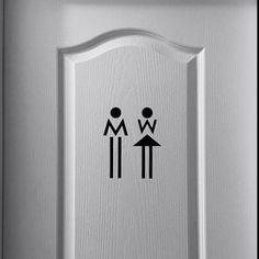 30 Ideas bathroom door signage etsy for 2019 Toilet Signage, Door Signage, Toilet Door Sign, Bathroom Doors, Bathroom Signs, Bathroom Interior, Modern Bathroom, Wc Symbol, Wc Sign