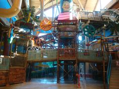Castaway Bay Lookout Lagoon Family Funhouse