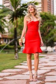 marina casemiro, full store, vestido bandagem vermelho tomara que caia, sandália spikes schutz valentino branca, simone meirelles fotografia, cabelo studio dk (3)