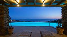 Δειλινό στο #Aeolis_Tinos_Suites