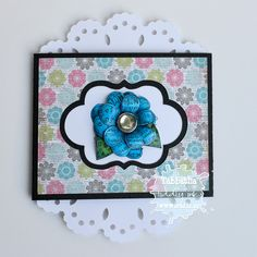 Flowery Wishes Pull Out Card - The Zadis Project