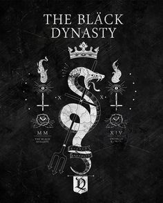 The Black Dynasty by El Diablo #graphic #design #bw