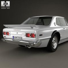 model: The model was created on real car base. Nissan Skyline, Retro, Projects, Model, Cars, Cutaway, Log Projects, Blue Prints