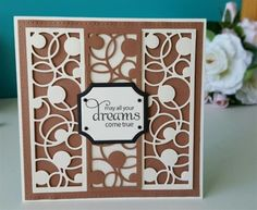 May All Your Dreams Come True using mini striplet die by DragonflyCards01 | docrafts.com