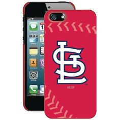 Coveroo Iphone 5 And 5s St. Louis Cardinals Stitched Case
