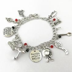 'Dad' Memorial / In Loving Memory Cream Leather Charm Bracelet for Women - Gift Boxed