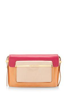 Mvk Small Handbag In Mandarin Multi by Mary Katrantzou for Preorder on Moda Operandi