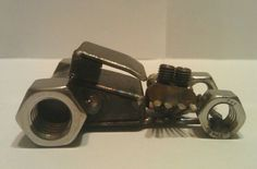 Scrap Metal Rat Rod Coupe