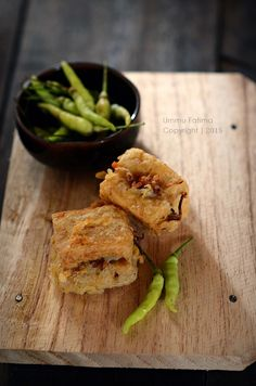 Simply Cooking and Baking...: Tahu Isi / Tahu Berontak