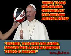 Papa Francisco y la pelota