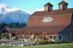 Olympic Cellars Winery, along the Olympic Culinary Loop in Washington State.