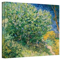 @Overstock.com - Artist: Vincent van Gogh Title: Lilacs Product type: Wrapped canvas arthttp://www.overstock.com/Home-Garden/Vincent-van-Gogh-Lilacs-Wrapped-Canvas-Art/7564325/product.html?CID=214117 $46.99