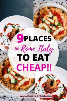 Wondering how to eat cheap in the food-obsessed city Rome, Italy? The Ultimate list of Cheap Restaurants to eat in Rome, Italy. Italy Travel Tips, Rome Travel, Travel Destinations, Travel Europe, Budget Travel, Rome Quotes, Rome Tips, Rome Photography, Grab Food