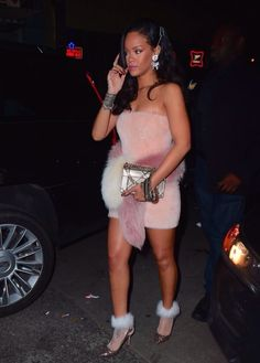 Rihanna nye in New York