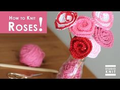 How to Knit Acorns | Knitted Softies for Beginning Knitters - YouTube