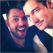 David Gandy & Mariano Vivanco.