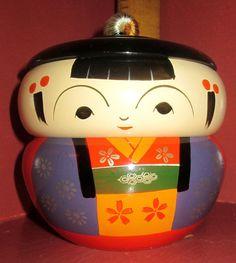 Vintage Japanese Figural Bento Box