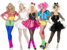 1980s Celebrity Ladies Fancy Dress Pop Star Retro 80s Womens Costumes  Outfits . f20e4f7771
