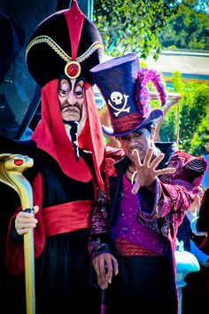 Jafar and Dr. Facilier by abelle2, via Flickr
