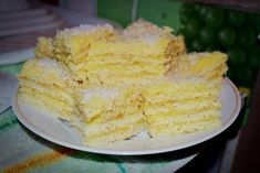 Soft and very tasty. Sweet Recipes, Cake Recipes, Hungarian Cake, Sunflower Cakes, Homemade Pastries, Good Food, Yummy Food, Easy Cake Decorating, Biscuit Cake