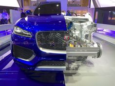 2016 Jaguar F-pace S AWD - Frontal View Section - Want to see more? Follow the link on the photo for Jaguar at IAA Frankfurt 2015!