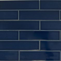 Caspian Blue subway tile from the Kiln Collection ceramic designer line. This eco-friendly tile is ideal for any kitchen backsplash, fireplace or bathroom. Tile handmade in USA. Subway Tile Colors, Blue Subway Tile, Ceramic Subway Tile, Ceramic Floor Tiles, Blue Tiles, Tile Floor, Bathroom Colors Blue, Kitchen Wall Colors, Blue Bathrooms