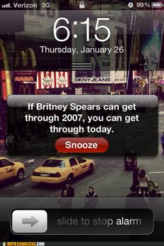 changing my alarm title NOW haha