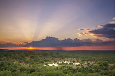 What a view! Victoria Falls Safari Lodge, Zimbabwe