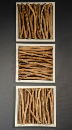 Amandra Wood Stick Wall Decor