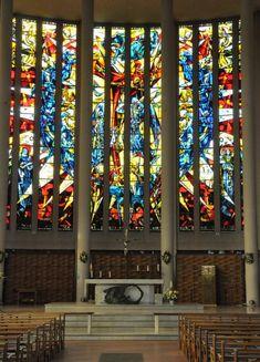 Le chœur de l'église Saint-Pierre d'Yvetot . Normandie
