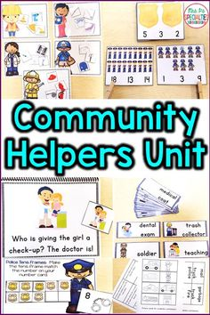 Target reading, math, comprehension, vocabulary and social studies concepts with this community helpers unit. It is packed full with hands on learning tasks specially designed for YOUR students. The tasks are perfect for task boxes, math centers, reading centers, direct instruction  and theme activities. Special education classrooms, life skills programs, students with autism and self-contained programs will find this unit particularly helpful for their students.