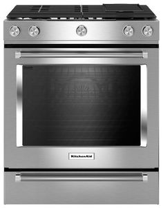 Ft. Self Cleaning Slide In Gas Convection Range   Stainless Steel