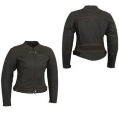 Womens Cowhide Leather Jacket Matte Finish