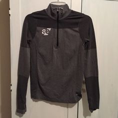 Forever 21 athletic half zip brand new Brand new never worn, grey athletic half zip with thumb holes on sleeves. Size medium, forever 21. Embroidered with Athletic Edge logo (a supplement company). Very warm and cute Forever 21 Tops Sweatshirts & Hoodies