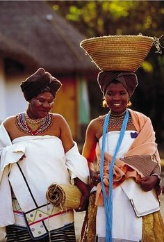 Xhosa Bride - Gauteng, South Africa by South African Tourism, Cultures Du Monde, World Cultures, We Are The World, People Of The World, African Tribes, African Women, African Beauty, African Fashion, Thinking Day