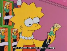 """Lisa Lionheart. """"Trust in yourself and you can achieve anything"""". #Lionheart- The Simpsons #LYD #Sportsgirl"""
