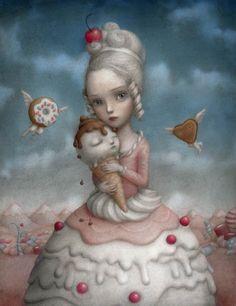 Nicoletta Ceccoli - Cherrie (cute!!!!!)