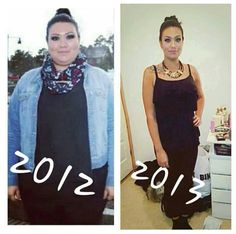 Amazing weight loss transformation!
