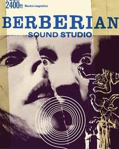 Berberian Sound Studio artwork, designed by Julian House