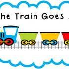 The Train Goes ... /b/ /a/ /t/! Great phoneme segmenting and blending resource for CVC words!