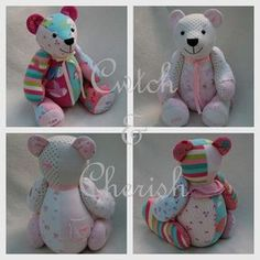 memorybears. Turn baby grows into a teddy.