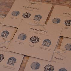 Zaproszenia na Bal Inżyniera. Bal Inżyniera - Zaproszenia eco #zaproszenia_na_bal #bal_inzyniera #bal_inzynierski #invitation #invitation_wedding #zaproszenia_olsztyn #ciekawe_zaproszenia_slubne