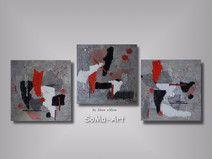 Acrylbild Future 3000 Trio #047