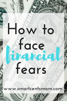 Financial fear got you down? Try these tips to help you get a handle on your finances! Click to read or Pin for later!