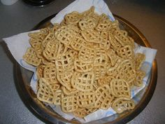 Home made crisps