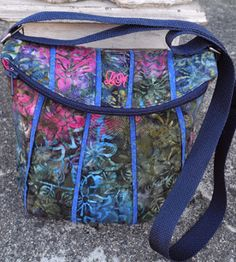 "an initialized Uptown Saddlebag by Laura Maki of Arlington, MN  The January 2013 ""Handbag of the Month"" Contest 