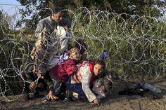 Heikki Aittokosken Kuolemantanssi -kirjan taustaa.  (Syyrialainen pakolaisperhe ylitti rajan Serbiasta Unkariin elokuussa 2015.)