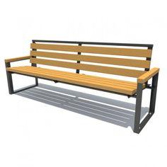 Raw Furniture, Welded Furniture, Pallet Garden Furniture, Industrial Design Furniture, Timber Furniture, City Furniture, Furniture Layout, Furniture Design, Outdoor Furniture
